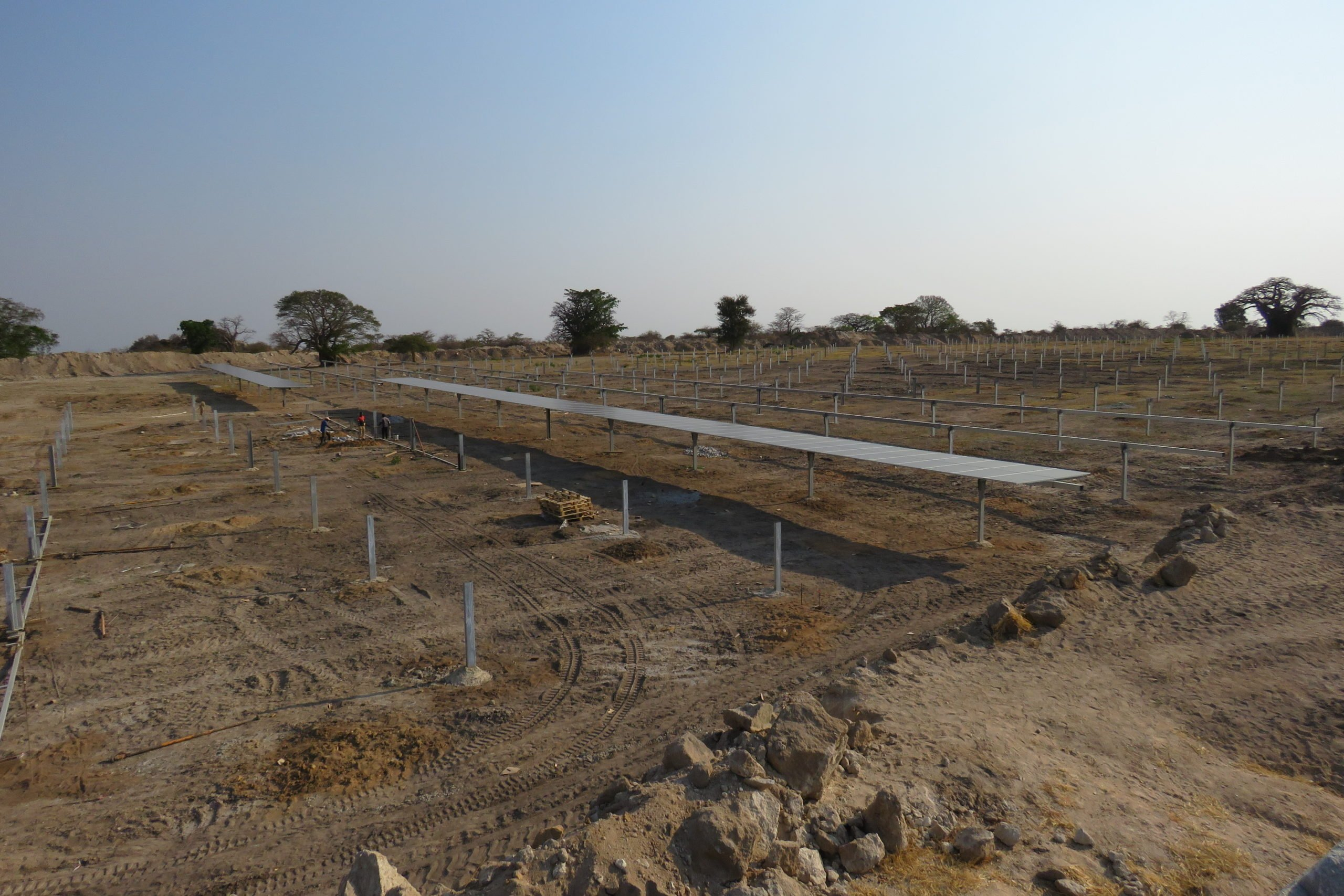 Solar Panels installed in Angola - Stones Spatium Petra